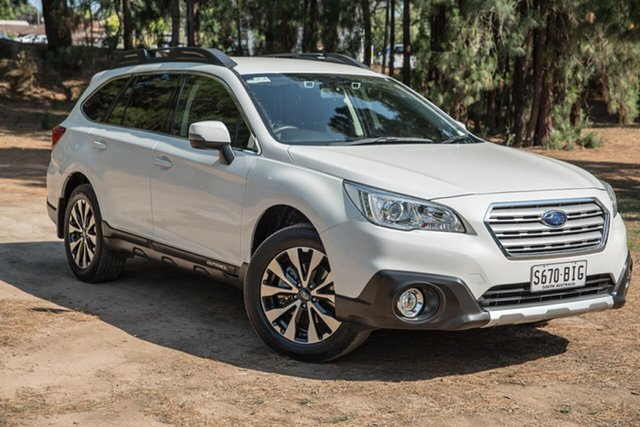 Used Subaru Outback B6A MY15 2.5i CVT AWD, 2015 Subaru Outback B6A MY15 2.5i CVT AWD White 6 Speed Constant Variable Wagon