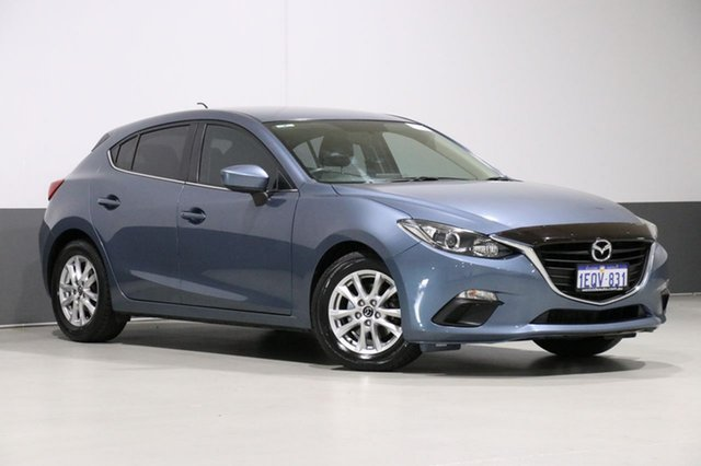 Used Mazda 3 BM Touring, 2014 Mazda 3 BM Touring Blue 6 Speed Manual Hatchback