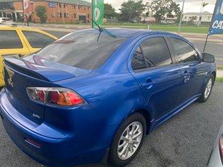 2010 Mitsubishi Lancer CJ my10 Blue 6 Speed Manual Sedan