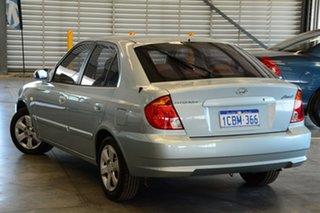 2005 Hyundai Accent LS 1.6 Celadon Blue 5 Speed Manual Hatchback.