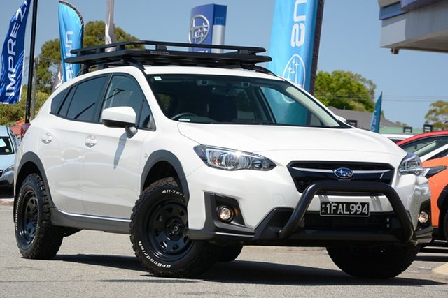 Demo Subaru XV MY19 2.0I + Eyesight Special Edtn, 2019 Subaru XV MY19 2.0I-E Crystal White Continuous Variable Hatchback