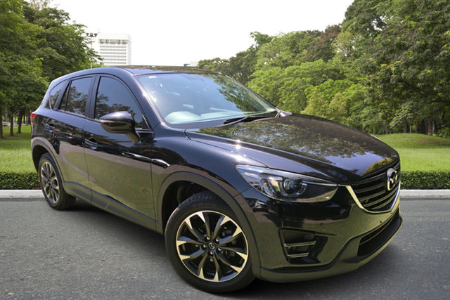 Used Mazda CX-5 KE1032 Grand Touring SKYACTIV-Drive i-ACTIV AWD, 2016 Mazda CX-5 KE1032 Grand Touring SKYACTIV-Drive i-ACTIV AWD Black 6 Speed Sports Automatic Wagon