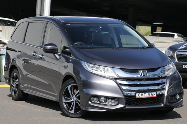 Used Honda Odyssey RC MY14 VTi-L, 2014 Honda Odyssey RC MY14 VTi-L Graphite 7 Speed Constant Variable Wagon