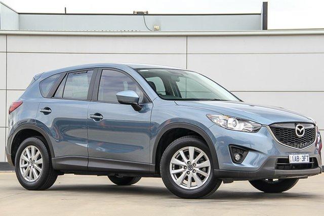 Used Mazda CX-5 KE1071 MY14 Maxx SKYACTIV-Drive Sport, 2014 Mazda CX-5 KE1071 MY14 Maxx SKYACTIV-Drive Sport Reflex Blue 6 Speed Sports Automatic Wagon