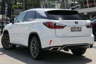 2018 Lexus RX GGL25R RX350 F Sport Pearl White 8 Speed Sports Automatic Wagon.