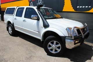2005 Holden Rodeo RA MY05 LT Crew Cab Solid White 4 Speed Automatic Utility.