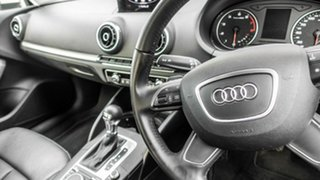 2014 Audi A3 8V Attraction Sportback S Tronic White 7 Speed Sports Automatic Dual Clutch Hatchback