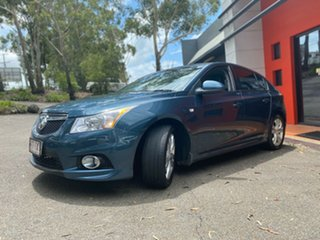 2014 Holden Cruze JH Series II MY14 SRi Metallic Blue 6 Speed Sports Automatic Hatchback.