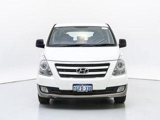 2017 Hyundai iMAX TQ Series II (TQ3) MY1 White 5 Speed Automatic Wagon.