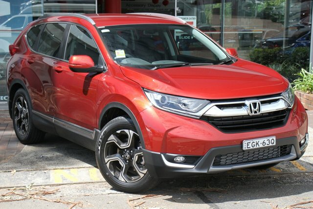 Demo Honda CR-V RW MY20 VTi-S FWD, 2019 Honda CR-V RW MY20 VTi-S FWD Passion Red 1 Speed Constant Variable Wagon
