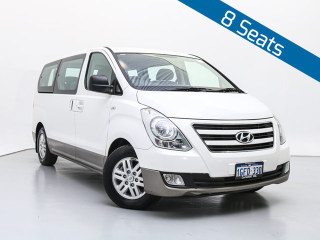 Used Hyundai iMAX TQ Series II (TQ3) MY1 , 2017 Hyundai iMAX TQ Series II (TQ3) MY1 White 5 Speed Automatic Wagon
