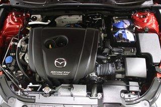 2014 Mazda 3 BL Series 2 MY13 SP25 Red 6 Speed Manual Sedan