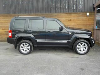 2012 Jeep Cherokee KK MY12 Limited Black 4 Speed Automatic Wagon.