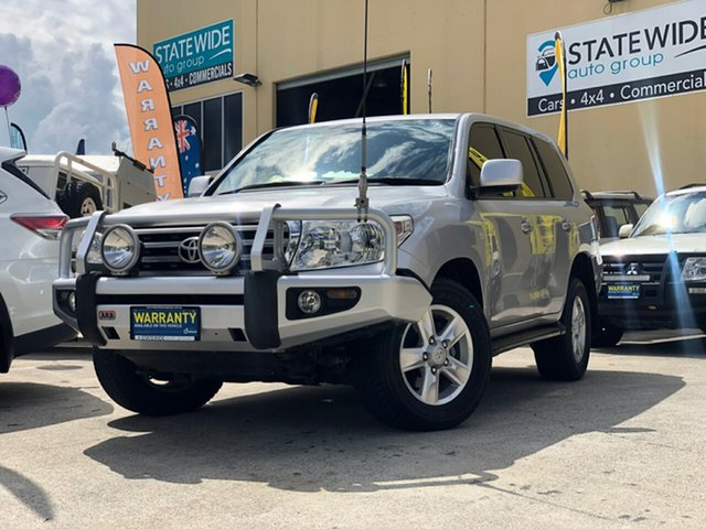 Used Toyota Landcruiser VDJ200R 09 Upgrade VX (4x4), 2010 Toyota Landcruiser VDJ200R 09 Upgrade VX (4x4) Silver 6 Speed Automatic Wagon