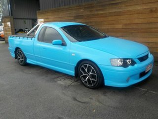 2004 Ford Falcon BA XR6 Turbo Ute Super Cab Blue 4 Speed Sports Automatic Utility.