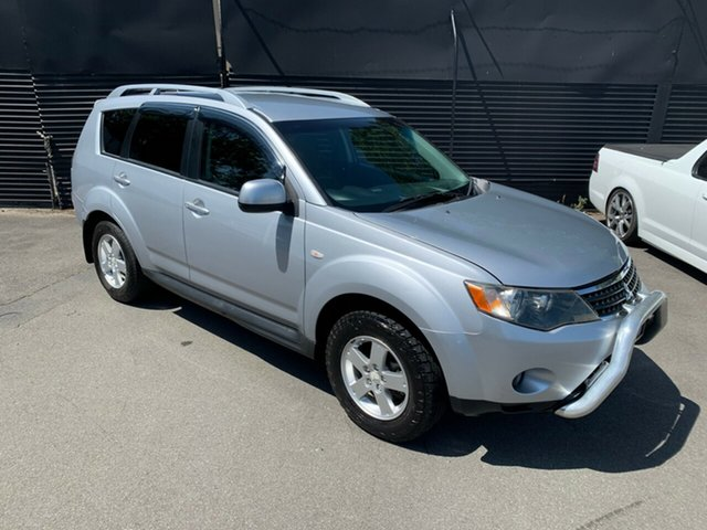 Used Mitsubishi Outlander ZG MY09 VR, 2009 Mitsubishi Outlander ZG MY09 VR Silver 6 Speed Sports Automatic Wagon
