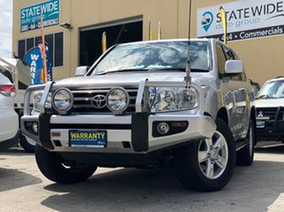 2010 Toyota Landcruiser VDJ200R 09 Upgrade VX (4x4) Silver 6 Speed Automatic Wagon