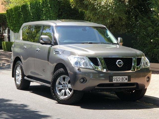 Used Nissan Patrol Y62 TI-L, 2013 Nissan Patrol Y62 TI-L Silver 7 Speed Sports Automatic Wagon