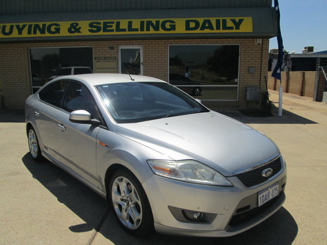 Used Ford Mondeo MA XR5 Turbo Mandurah, 2008 Ford Mondeo MA XR5 Turbo Silver 6 Speed Manual Sedan