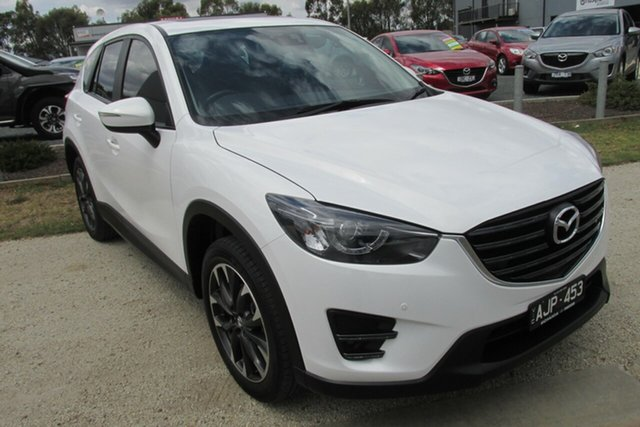 Used Mazda CX-5 KE1032 Grand Touring SKYACTIV-Drive AWD, 2016 Mazda CX-5 KE1032 Grand Touring SKYACTIV-Drive AWD White 6 Speed Sports Automatic Wagon