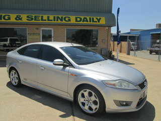 2008 Ford Mondeo MA XR5 Turbo Silver 6 Speed Manual Sedan.