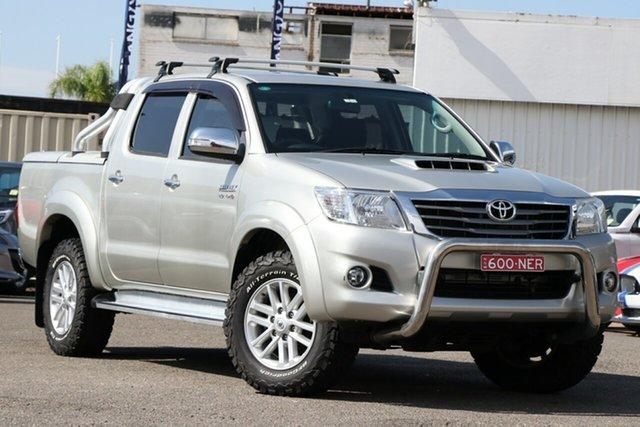 Used Toyota Hilux KUN26R MY14 SR Double Cab, 2014 Toyota Hilux KUN26R MY14 SR Double Cab Silver 5 Speed Automatic Utility