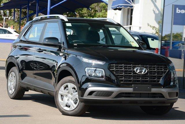 New Hyundai Venue QX MY20 Go, 2020 Hyundai Venue QX MY20 Go Phantom Black 6 Speed Manual Wagon