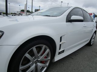 2007 Holden Special Vehicles ClubSport E Series R8 White 6 Speed Manual Sedan