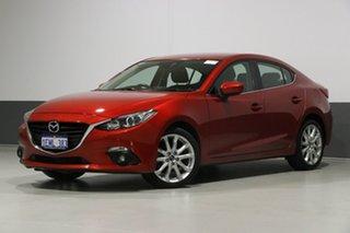 2014 Mazda 3 BL Series 2 MY13 SP25 Red 6 Speed Manual Sedan.