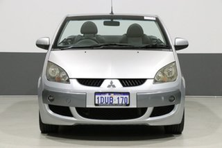 2007 Mitsubishi Colt RZ Turbo Silver 5 Speed Manual Cabriolet.