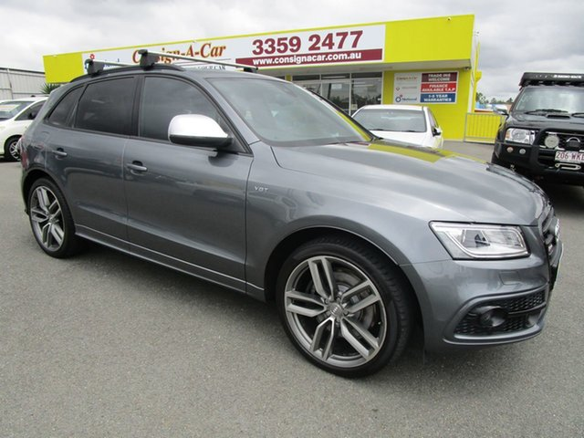 Used Audi SQ5 8R MY14 TDI Tiptronic Quattro, 2014 Audi SQ5 8R MY14 TDI Tiptronic Quattro Grey 8 Speed Sports Automatic Wagon