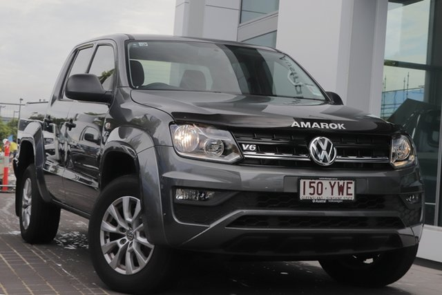 Used Volkswagen Amarok 2H MY19 TDI550 4MOTION Perm Core, 2018 Volkswagen Amarok 2H MY19 TDI550 4MOTION Perm Core Grey 8 Speed Automatic Utility