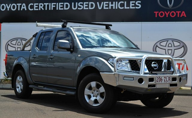 Used Nissan Navara D40 ST (4x4), 2010 Nissan Navara D40 ST (4x4) Grey Mica 5 Speed Automatic Dual Cab Pick-up