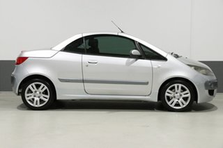 2007 Mitsubishi Colt RZ Turbo Silver 5 Speed Manual Cabriolet