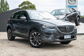 2016 Mazda CX-5 KE1032 Grand Touring SKYACTIV-Drive AWD Silver 6 Speed Sports Automatic Wagon.