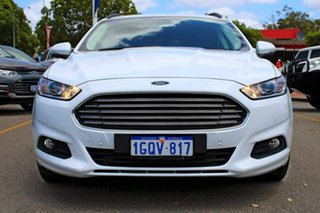 2018 Ford Mondeo MD 2018.25MY Ambiente PwrShift White 6 Speed Sports Automatic Dual Clutch Wagon.