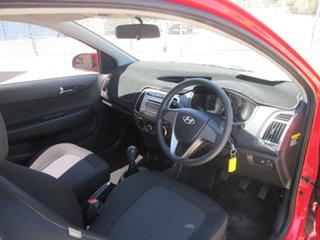 2013 Hyundai i20 PB Active Red 6 Speed Manual Hatchback