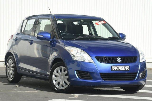 Used Suzuki Swift FZ GL, 2011 Suzuki Swift FZ GL Blue 5 Speed Manual Hatchback