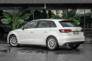 2014 Audi A3 8V Attraction Sportback S Tronic White 7 Speed Sports Automatic Dual Clutch Hatchback.