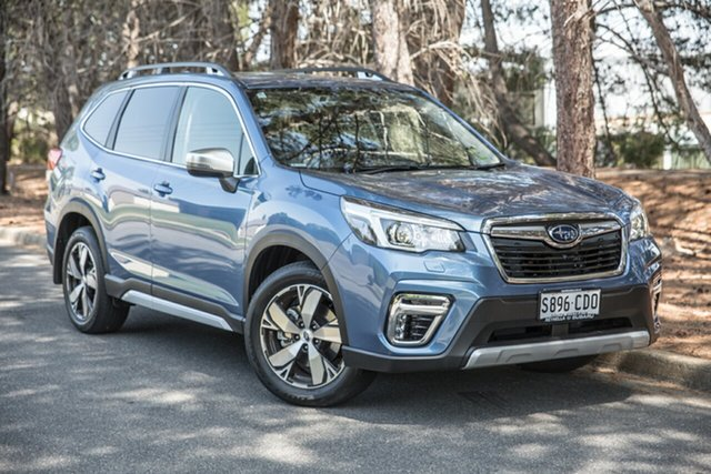 Demo Subaru Forester S5 MY20 2.5i-S CVT AWD, 2019 Subaru Forester S5 MY20 2.5i-S CVT AWD Horizon Blue 7 Speed Constant Variable Wagon