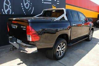 2016 Toyota Hilux GUN126R SR5 Double Cab Eclipse Black 6 Speed Sports Automatic Utility.