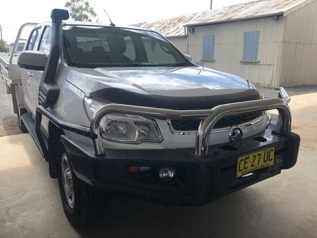 Used Holden Colorado RG MY16 LS (4x4), 2015 Holden Colorado RG MY16 LS (4x4) Summit White 6 Speed Manual Cab Chassis