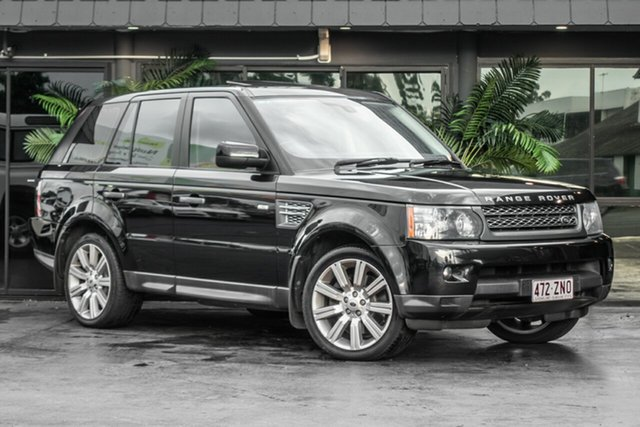 Used Land Rover Range Rover Sport L320 10MY TDV8, 2010 Land Rover Range Rover Sport L320 10MY TDV8 Black 6 Speed Sports Automatic Wagon