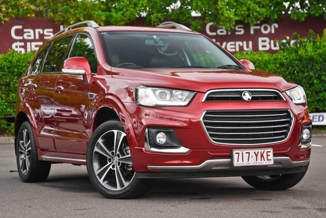 Used Holden Captiva CG MY18 LTZ AWD, 2018 Holden Captiva CG MY18 LTZ AWD Red 6 Speed Sports Automatic Wagon