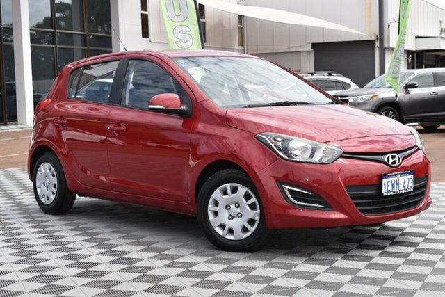 Used Hyundai i20 PB MY15 Active, 2015 Hyundai i20 PB MY15 Active Red 4 Speed Automatic Hatchback