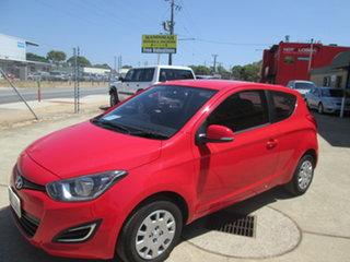 2013 Hyundai i20 PB Active Red 6 Speed Manual Hatchback.