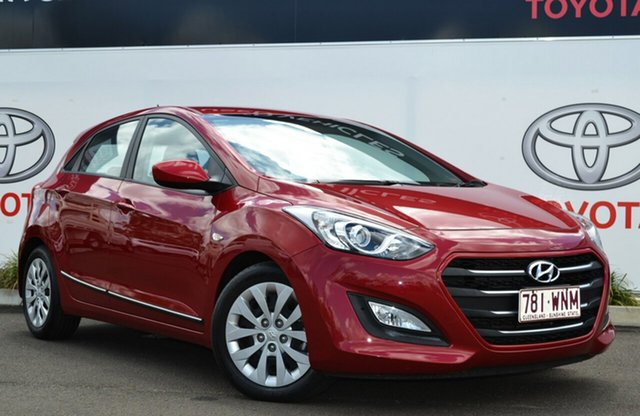Used Hyundai i30 GD4 Series 2 Update Active, 2016 Hyundai i30 GD4 Series 2 Update Active Red 6 Speed Automatic Hatchback