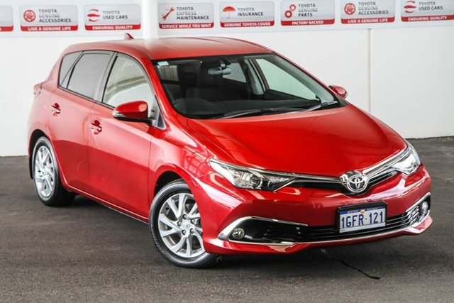 Used Toyota Corolla ZRE182R MY15 Ascent Sport, 2016 Toyota Corolla ZRE182R MY15 Ascent Sport Wildfire 7 Speed CVT Auto Sequential Hatchback