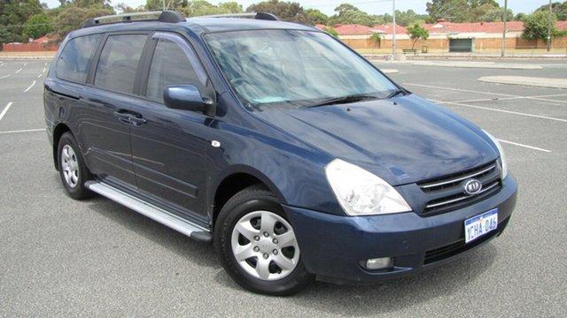 Used Kia Grand Carnival VQ EX, 2006 Kia Grand Carnival VQ EX Blue 5 Speed Sports Automatic Wagon