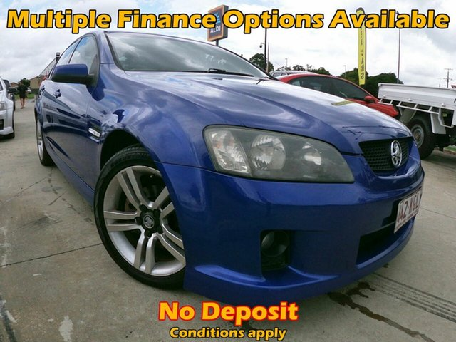 Used Holden Commodore VE SV6, 2007 Holden Commodore VE SV6 Blue 5 Speed Automatic Sedan